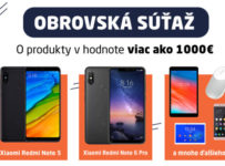 Xiaomi súťaž o 7 produktov v hodnote 1000 €