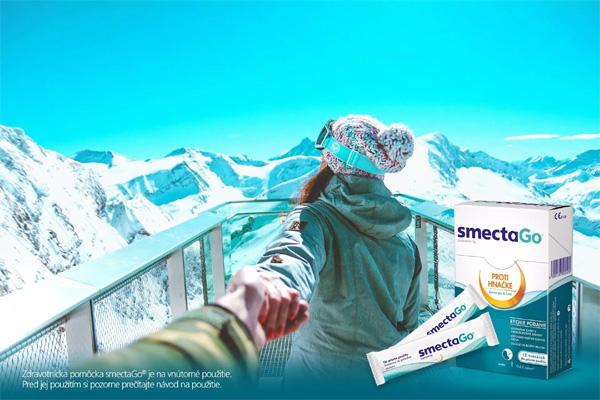 Súťaž o balíčky zdravotníckej pomôcky smectaGo
