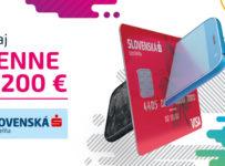 Hraj každý deň o 200 € od Slovenskej Sporiteľne