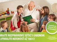 Rozprávková súťaž – Hraj s Unionom a vyhraj 100 Eur