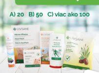 Súťaž o 10 balíčkov produktov LIVSANE