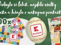 Súťaž o 100 nákupných poukážok Kaufland v hodnote 50 eur