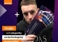 Súťaž o 2 vstupenky na technologický festival IXPO