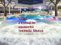 Súťaž o 2 x vstup do aquaparku THERMAL ŠÍRAVA