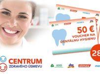 Súťaž o 28 voucherov na dentálnu hygienu v hodnote 50 €
