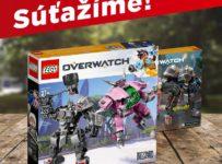 Súťaž o LEGO Overwatch - D.Va a Reinhardt
