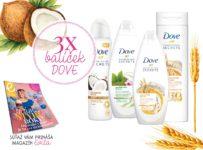 Súťaž o balíček Dove od EVITA magazín