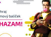 Súťaž o filmový balíček k filmu SHAZAM