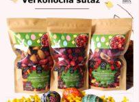 Súťaž o mix balenia mrazom sušeného ovocia vo veľkonočnej edícii