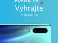 Súťaž o nový smartfón Huawei P30