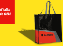 Súťaž o originálnu tašku Suzuki