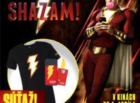 Súťaž o pánske tričko a peňaženku k mobilu SHAZAM