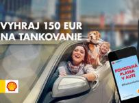 Súťaž o palivovú kartu v hodnote 150 EUR od Shell