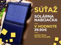 Súťaž o prenosnú, skladateľnú solárnu nabíjačku