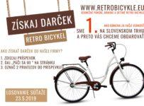 Súťaž o retro bicykel