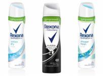 Súťaž o tri balíčky od Rexony