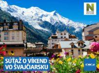 Súťaž o víkend vo Švajčiarsku a výlet na Mont Blanc
