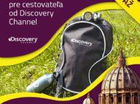 Súťaž o výbavu pre cestovateľa od Discovery Channel