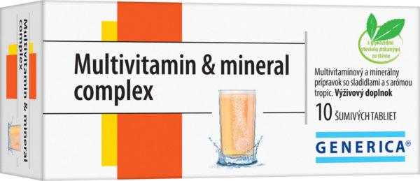 Súťaž o vitamínový balíček GENERICA