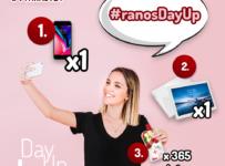 Súťaž s DayUp o iPhone 8, tablet Lenovo P10 alebo DayUp na každý deň!