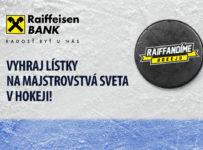 Vyhraj lístky na Majstrovstvá sveta v hokeji