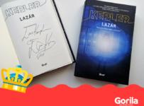 Vyhraj podpísanú knižnú novinku Larsa Keplera