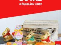 Vyhrajte 3x balíček od švajčiarskych majstrov čokolády Lindt