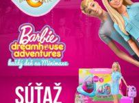 Vyhrajte Barbie cestovateľku alebo originálny Barbie vrtuľník
