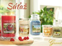 Vyhrajte luxusné sviečky Yankee Candle v hodnote 25€