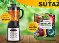 Vyhrajte skvelý mixér s ohrevom a 3 knihy so smoothie receptami