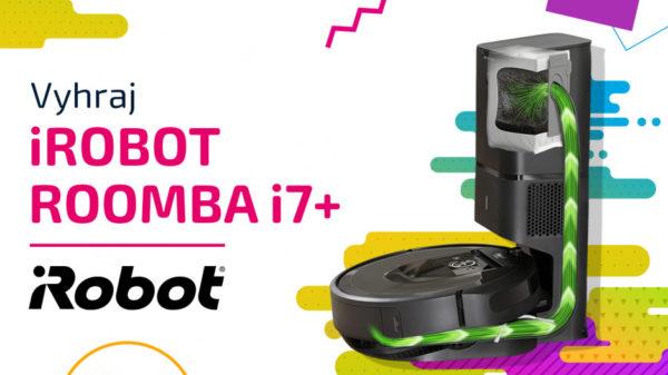 Zapoj sa do kvízu a vyhraj Roomba i7+