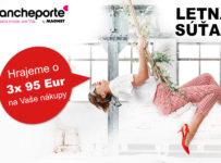 Letná súťaž Blancheporte o 3x 95 € na nákupy