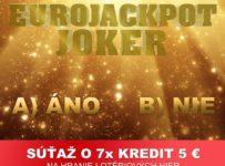 Súťaží o kredit 5 € na hranie lotériových hier na eTIPOS.sk
