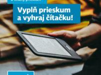 Súťaž o čítačku e-kníh Pocketbook Touch Lux 4 a 25-eurové poukážky na nákup v Martinuse
