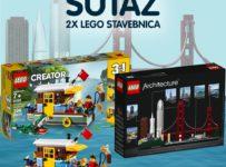 Súťaž o 2 stavebnice LEGO