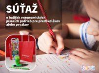 Súťaž o balíček ergonomických písacích potrieb Stabilo