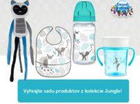 Súťaž o balíček produktov Canpol babies z kolekcie Jungle