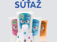 Súťaž o bezdotykový dávkovač mýdla Dettol Kids