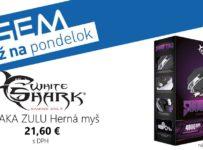Súťaž o hernú myš White Shark SHAKA ZULU GM-5001