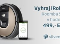 Súťaž o iRobot Roomba 966 v hodnote 499,- EUR
