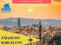 Súťaž o letecký poznávací zájazd do Barcelony