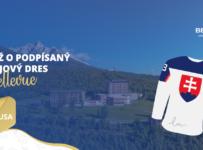 Súťaž o podpísaný hokejový dres a týždenný letný pobyt v Grand hoteli Bellevue