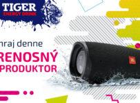 Súťaž o prenosný bluetooth reproduktor JBL Charge 4 v hodnote 185 €