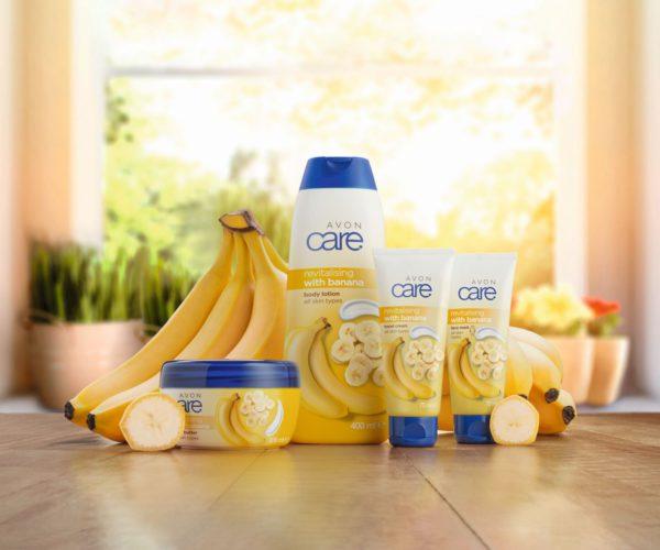 Súťaž o výrobky z línie Avon Care s banánom
