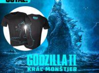 Súťaž s filmom Godzilla II Kráľ monštier