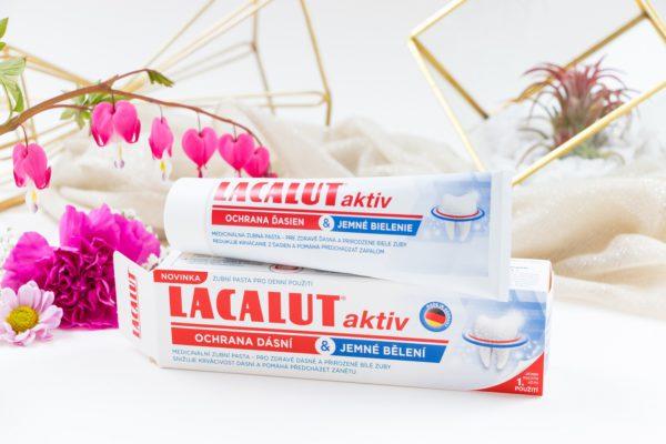 Vyhraj 3x zubnú pastu Lacalut aktiv ochrana ďasien