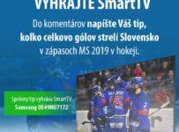 Vyhrajte SmartTV od Gigastore.sk