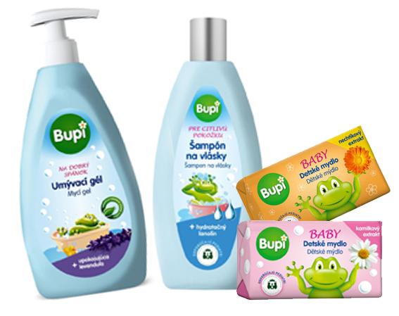 Vyhrajte balíček detskej kozmetiky BUPI