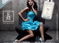 Vyhrajte dámsky parfum FM 23 Pure 50 ml a získajte zľavový kupón