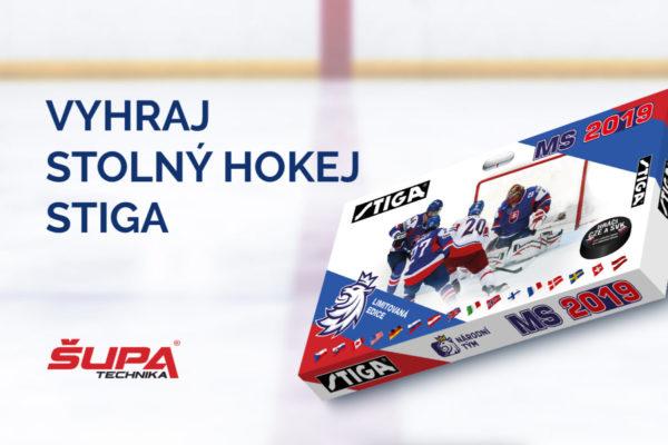 Vyhrajte každý pracovný deň stolný hokej STIGA